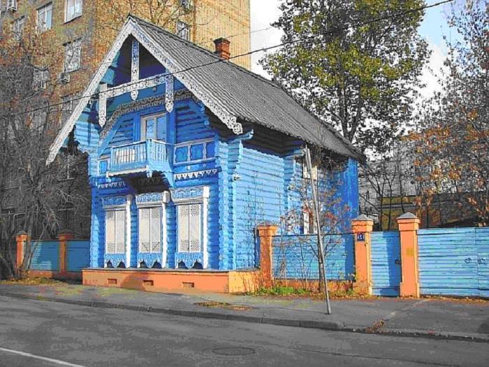 Погодинская изба. Москва, 1856 г.