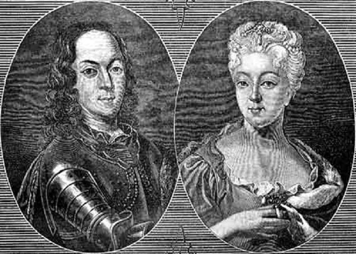 Царевич Алексей Петрович и супруга его кронпринцесса Шарлотта-Кристина-Софья