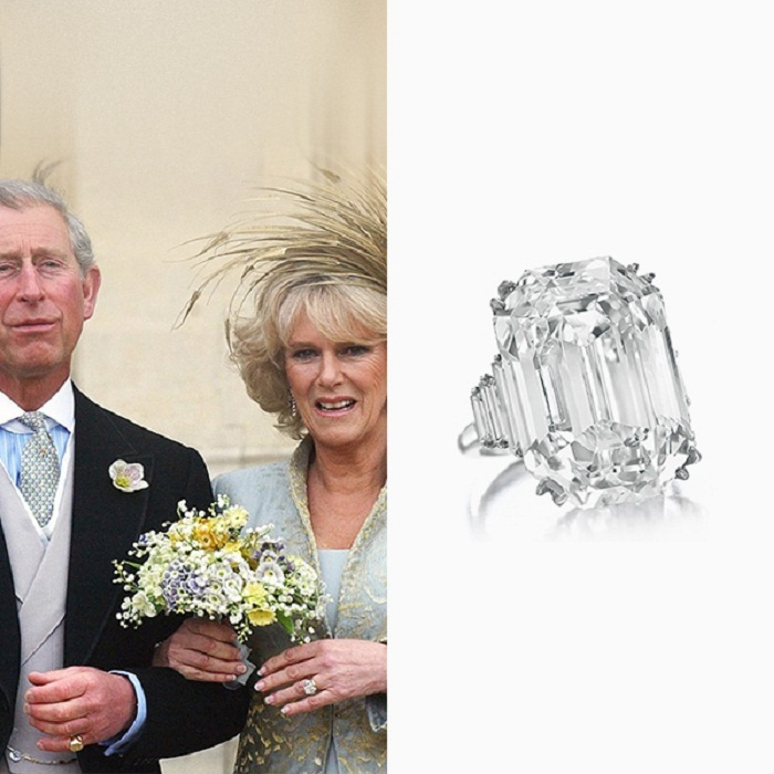 Принц Чарльз со своей возлюбленной Камиллой, начало 2005 года