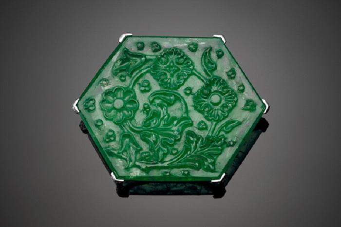 Изумруд «Тадж Махал», Индия, 1650-1700, вес 141,12 карат