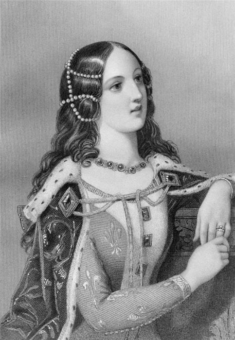 Изабелла Валуа, вторая супруга Ричарда II