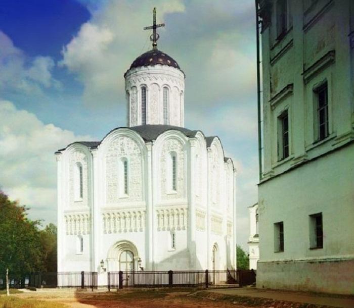Дмитриевский собор, 1911 год