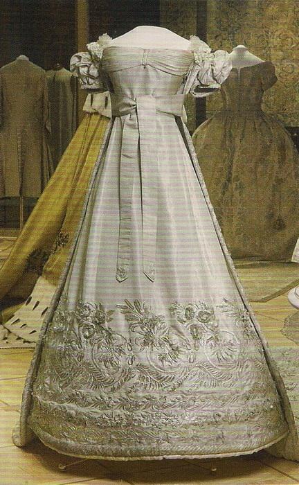 Коронационное платье Александры Федоровны