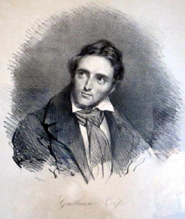 Портрет молодого Гийома (Гилиама) Гифса работы Густава Вапперса