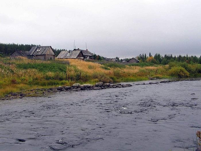 Река Муна в Мурманской области
