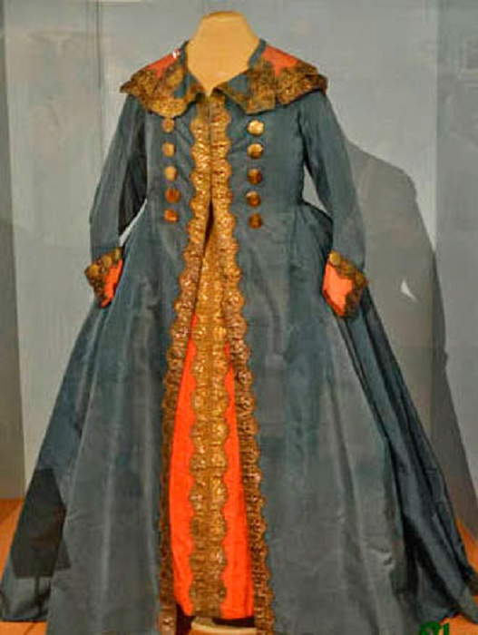 Мундирное платье Екатерины Великой. Лейб-Гвардии Конный полк