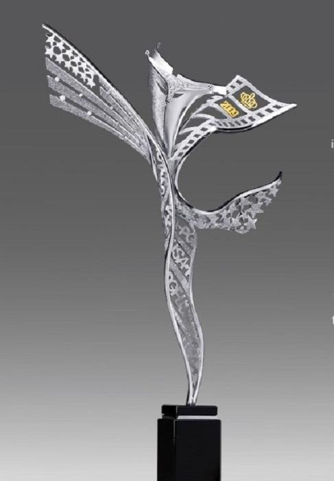 Статуэтка для награждения Ежегодной премии фонда имени Грейс Келли