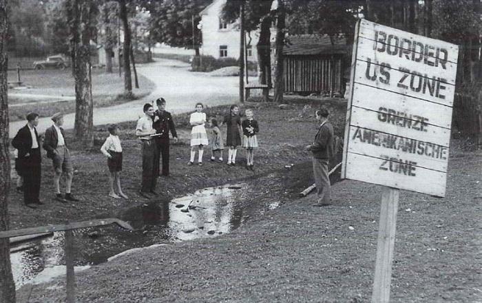 Граница в 1949 году