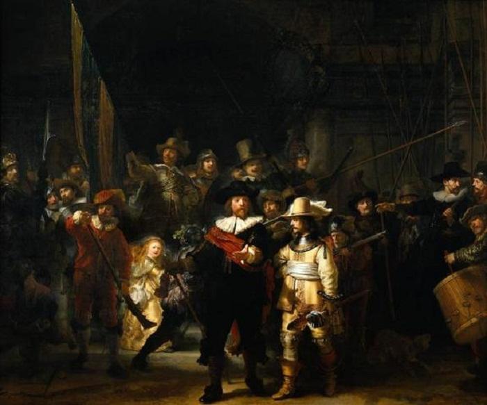 «Ночной дозор» Рембрандта