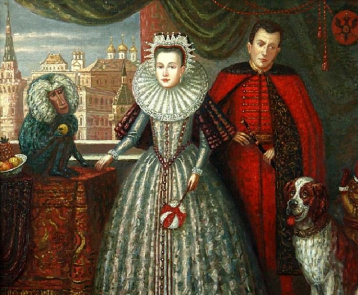 Марина Мнишек и Лжедмитрий. 8 мая 1606 года