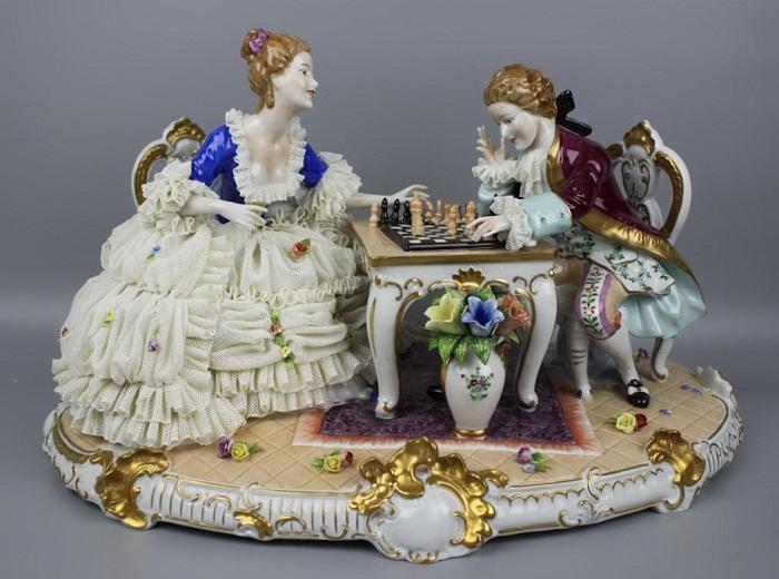 Играющие в шахматы, Unterweissbach