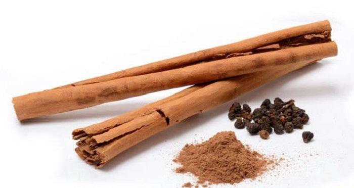 Корица. Получают ее из внутренней коры разных видов коричного дерева.
