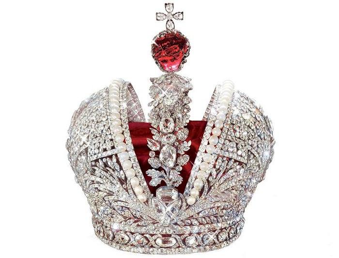 Большая императорская корона Российской империи 1762 г.