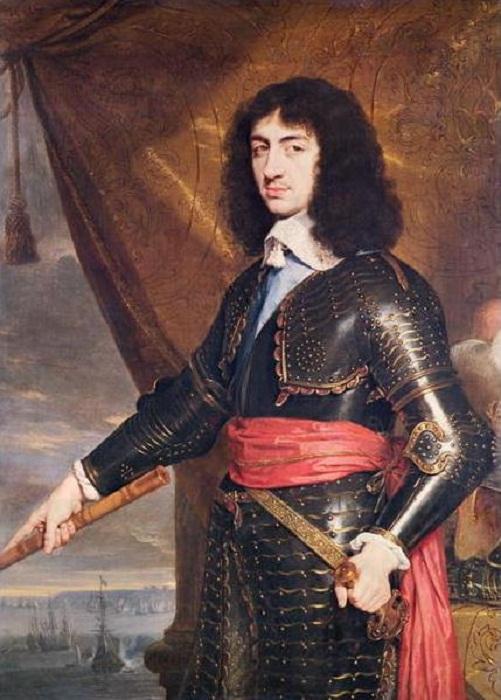 Карл II Стюарт -  король Англии и Шотландии с 1660 года