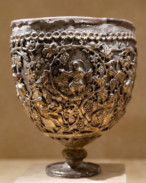 Чаша Антиохия. VI век или начало VII века. Метрополитен-музей. Нью-Йорк