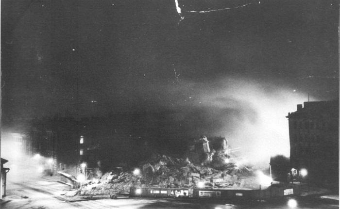 Взрыв в ночь с 1 на 2 февраля 1961 года