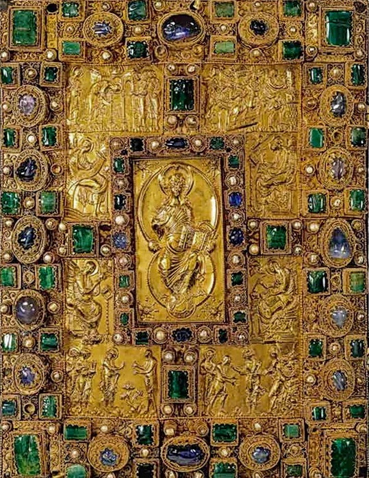 Codex Aureus of St. Emmeram, 870г.