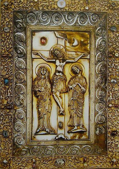 Evangeliary by Hugo d'Oignies, 1228-1230гг.