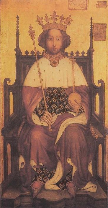 Ричард II. Портрет конца XIV века