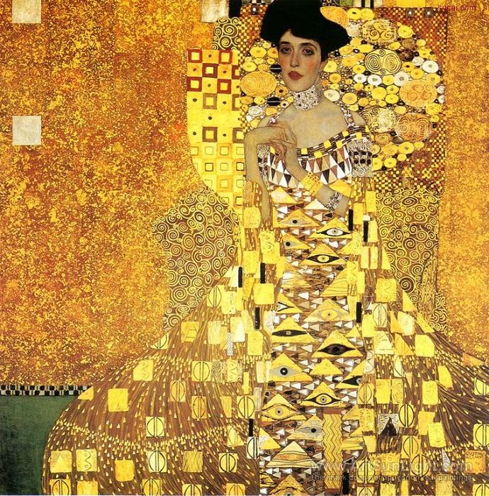 Портрет Адели Блох-Бауэр I 1907