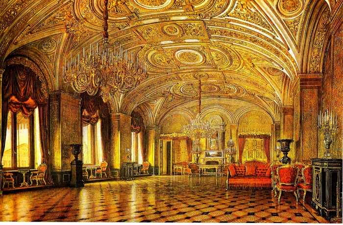 А.Х. Кольб. Золотая гостиная. Середина XIX в.