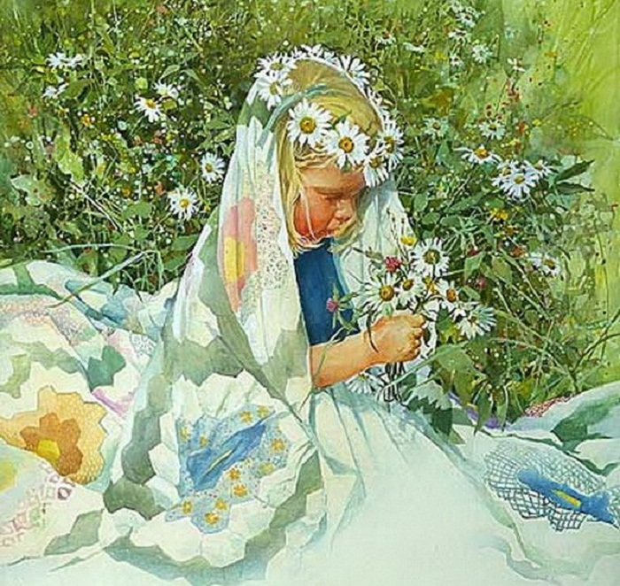 Carolyn Blish Daisy Crown