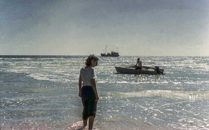 На Аральском море, 1960-е. /Фото: im0-tub-ua.yandex.net