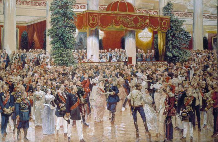 К 19 веку бал стал важнейшим событием культурной жизни дворян. /Фото: upload.wikimedia.org