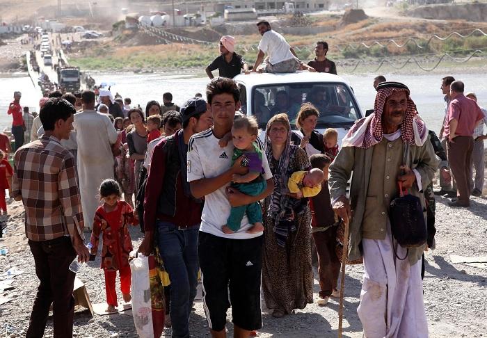 Езиды-беженцы из Ирака. /Фото: im-media.voltron.voanews.com