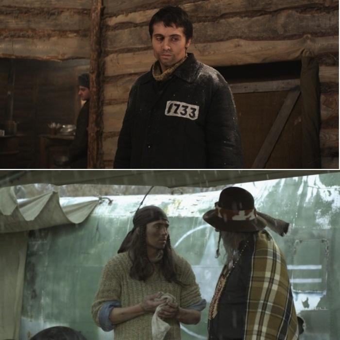 Кадры из украинского фильма «на реальных событиях».