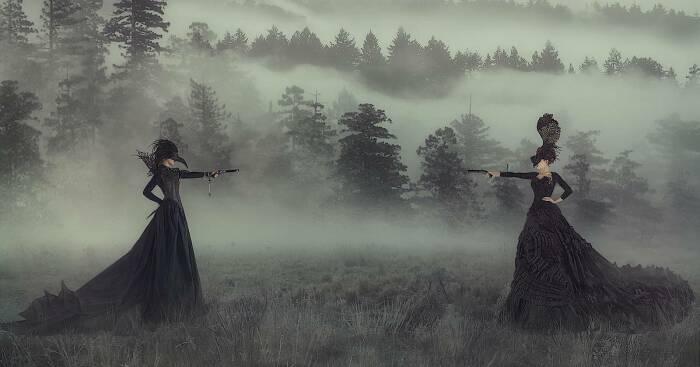 Во время царствования Екатерины Великой женские дуэли получили большое распространение. /Фото: s9.travelask.ru