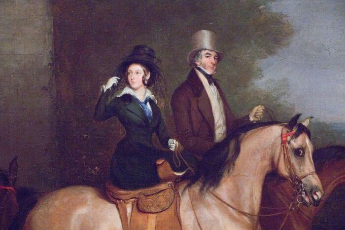 Королева Виктория тяжело переживала разрыв с лордом Мельбурном. /Фото: i.pinimg.com