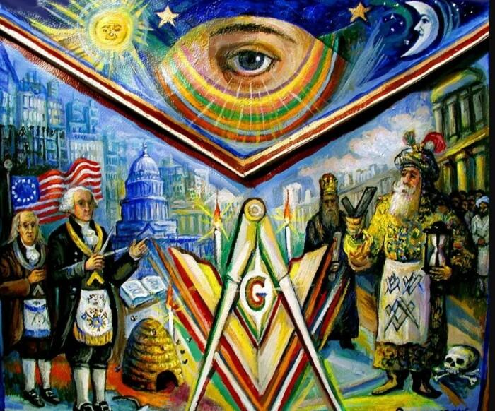 Символы масонства. /Фото: webkamerton.ru