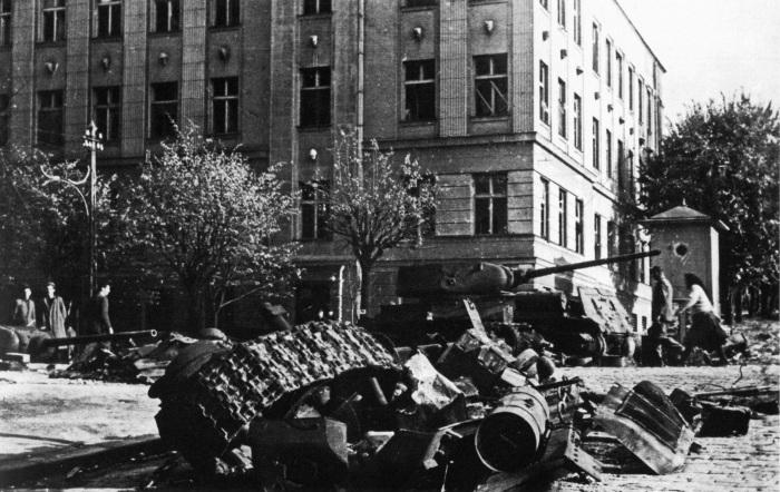 Белград, 1944. /Фото: waralbum.ru