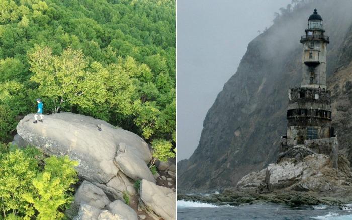 Таинственные места Сахалина: Лягушка и заброшенный маяк.
