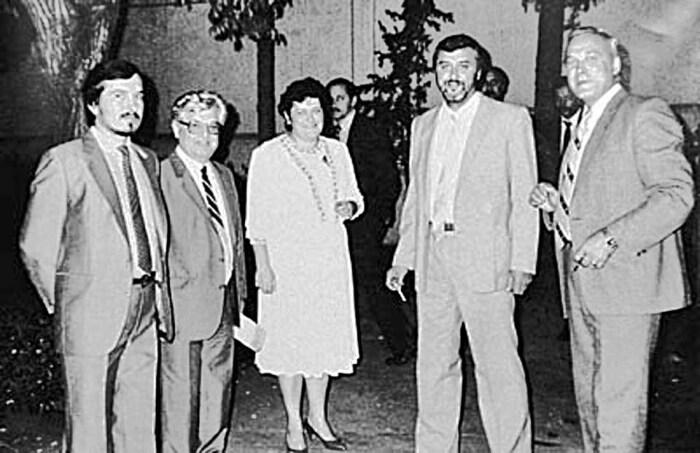 Юрий Перфильев, Бейрут, 1985. /Фото: kramola.info