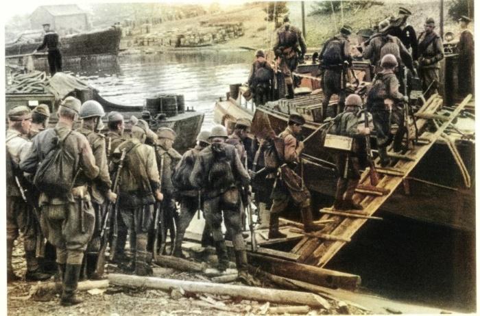 Начало наступления в ходе четвертого сталинского удара. /Фото: u.9111s.ru