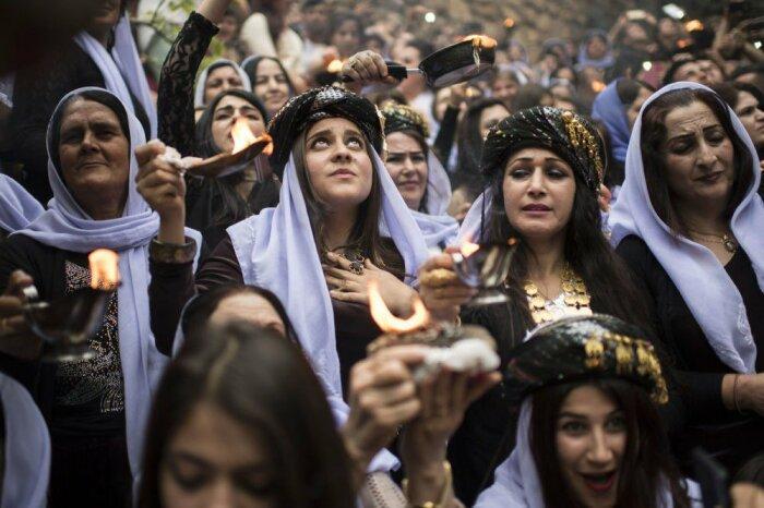 Права женщин у езидов не ущемляются. /Фото: im0-tub-ua.yandex.net