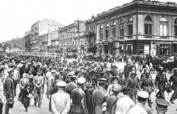 Германские оккупанты в Украине./Фото: histrf.ru