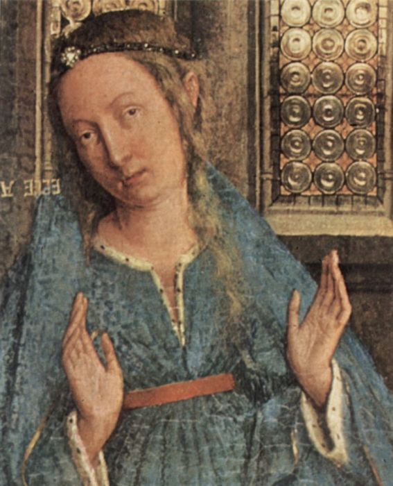 Благовещение. Ян Ван Эйк. 1434 год. / Фото: artchive.ru