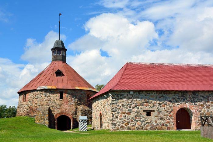 Музей-крепость Корела./Фото: visit-petersburg.ru