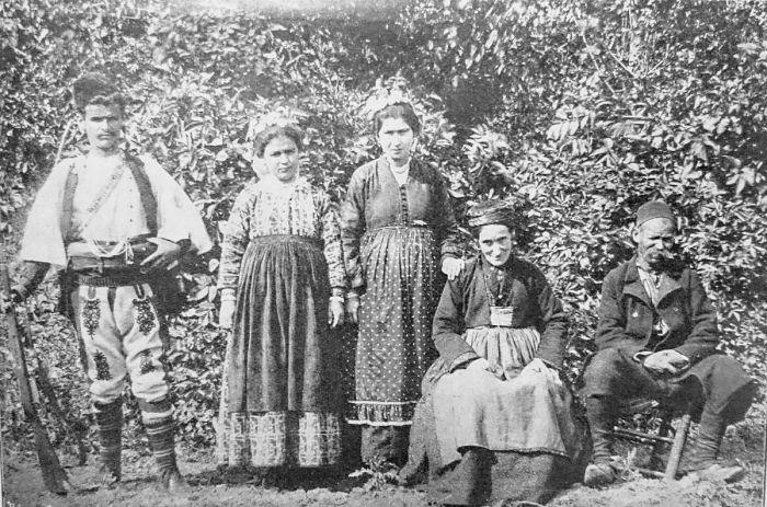 Южнославянский народ македонцы./Фото: upload.wikimedia.org