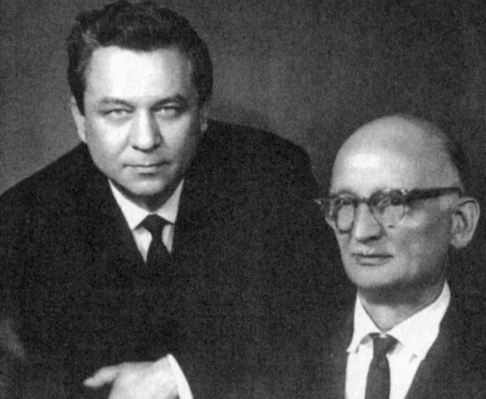 Разведчики Молодый и Абель. /Фото: img1.fedpress.ru