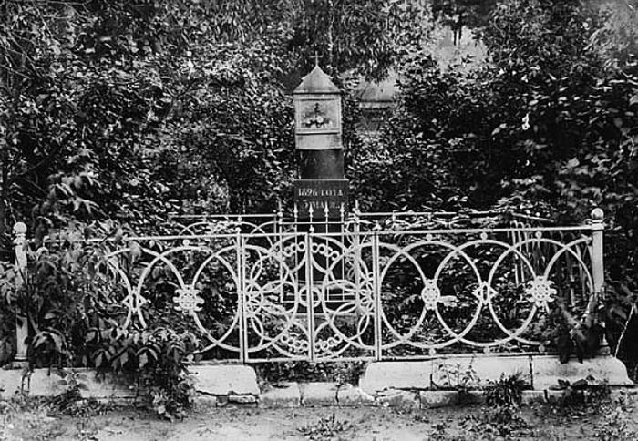 Памятник Елизавете Алексеевне в Белеве./Фото: ic.pics.livejournal.com
