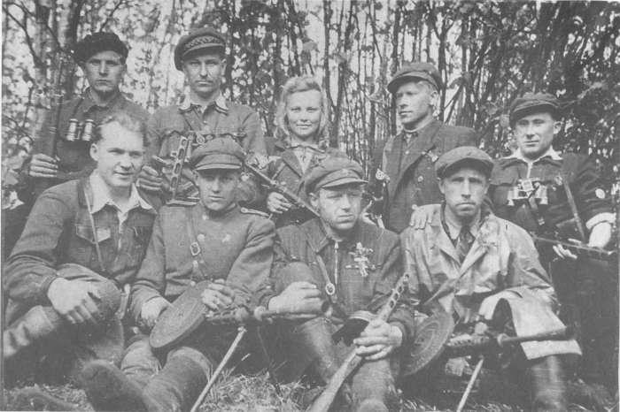 Лесные братья и сестры./Фото: partizanai.org