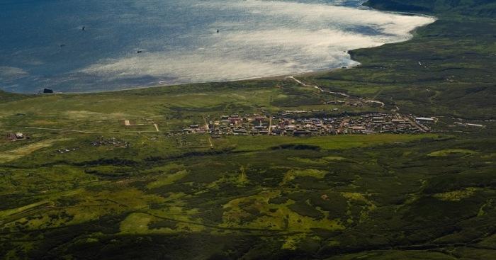 На Парамушире 5 активных вулканов./Фото: mgorskikh.com