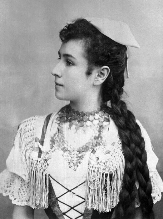 Балерина Матильда Кшесинская. 1896 год./Фото: i0.wp.com