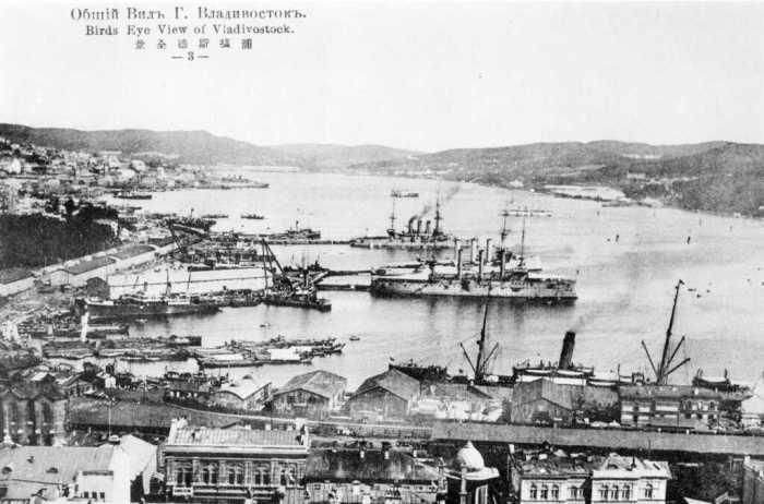 Владивосток в 1918 году. /Фото: soldiersofuxbridge.files.wordpress.com