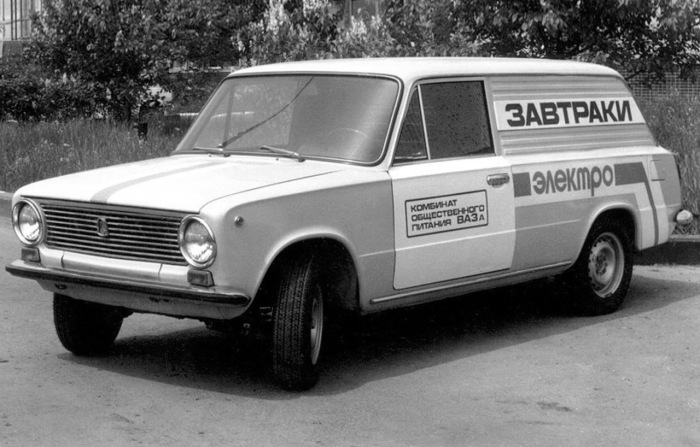 ВАЗ-электромобиль. /Фото: s.auto.drom.ru