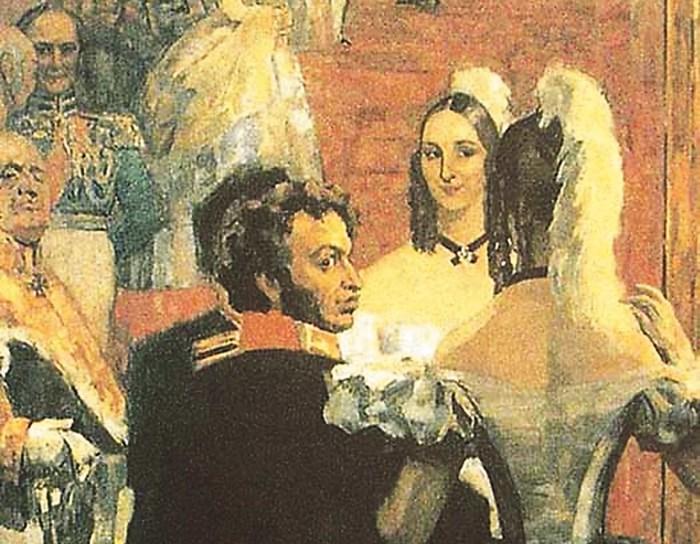 У Пушкиных было все для абсолютного счастья: он — первый поэт России, она — первая красавица./Фото: vesty.spb.ru